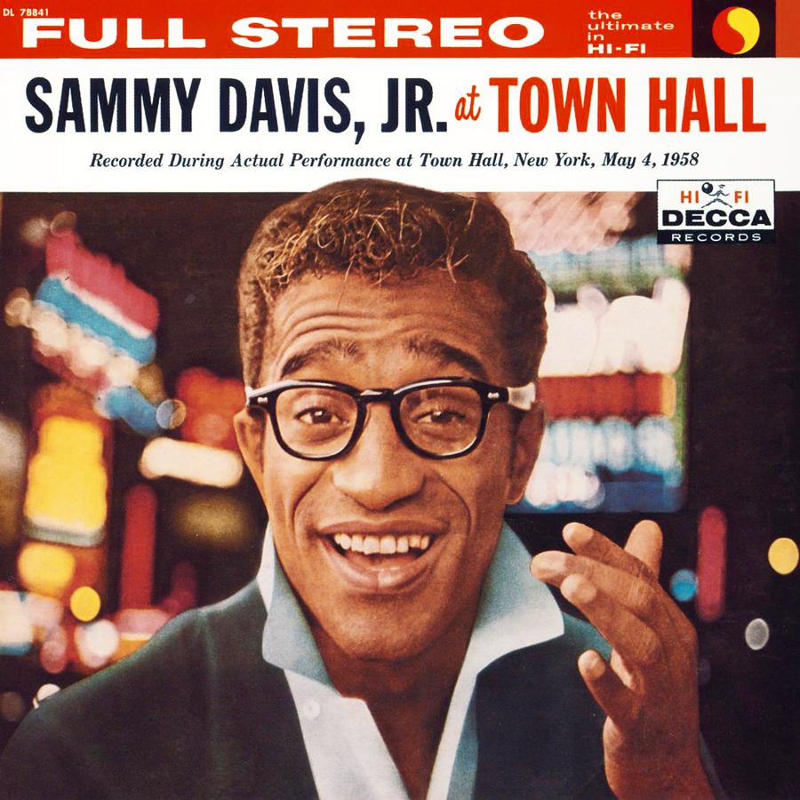Sammy Davis, Jr. At Town Hall