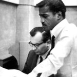 Claus Ogerman with Sammy Davis, Jr.