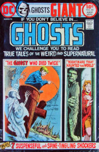 DC Ghosts #40 July 1975 Cover