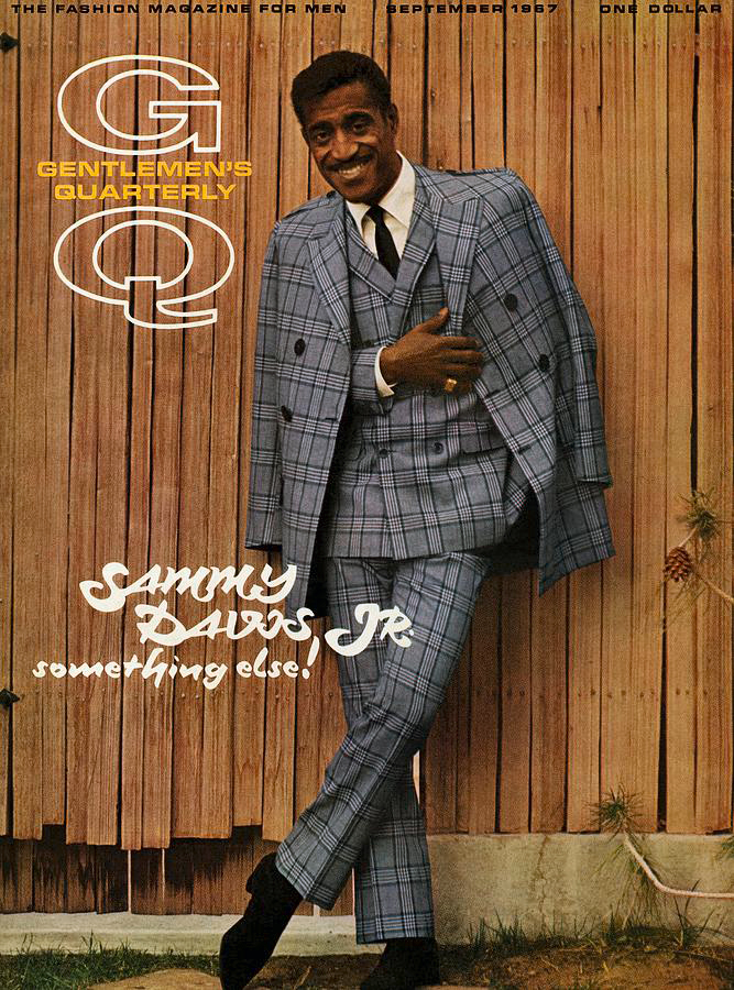 GQ Cover Sammy Davis 1967 Sy Devore Milton Greene