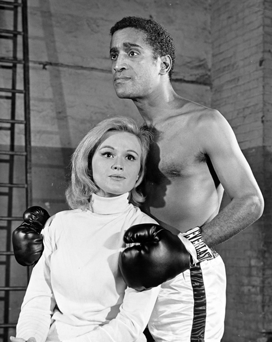 Rehearsal Golden Boy 1964. From The New York Public Library, Friedman-Abeles Collection.
