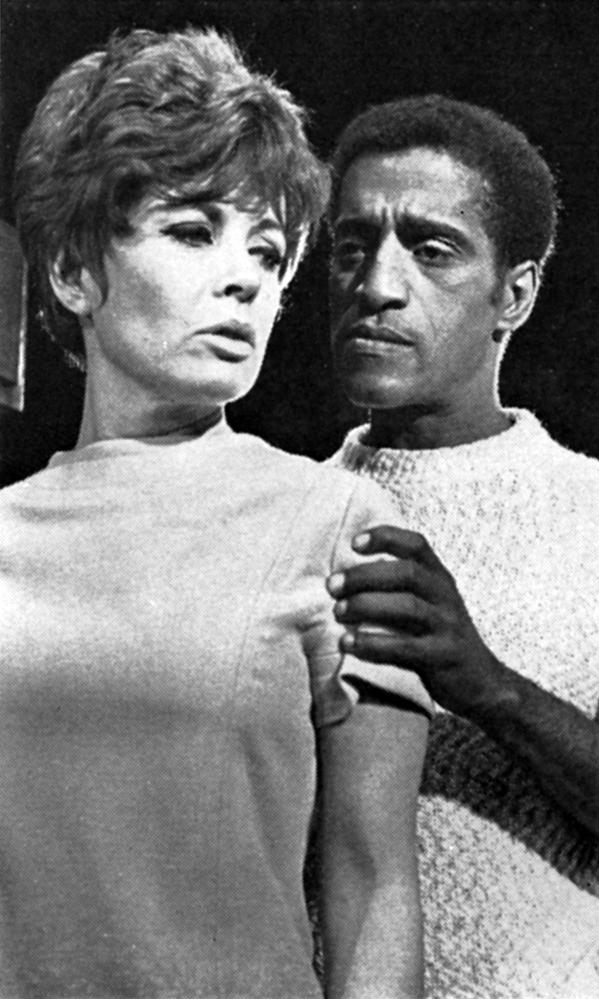 Sammy Davis and Gloria DeHaven in Golden Boy at the London Palladium 1968