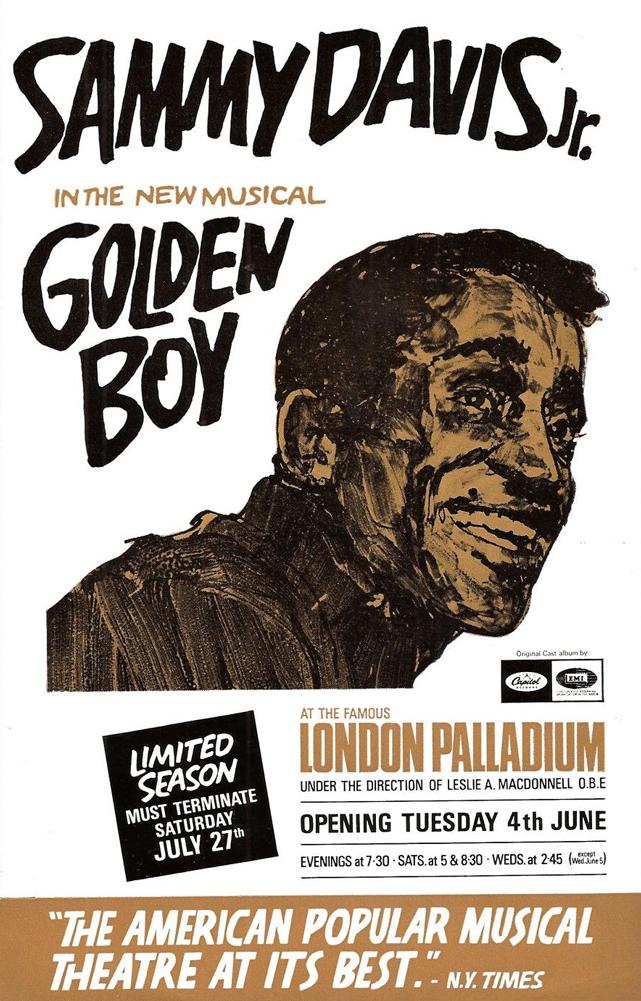 Golden Boy London Poster 1968