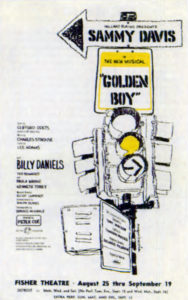 Golden Boy Poster Detroit