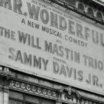Broadway marquee for Mr. Wonderful