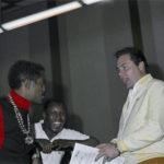 Sammy Davis Jr, H.B. Barnum and Jimmy Bowen