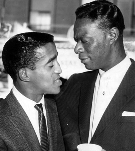 Sammy Davis Jr And Nat King Cole