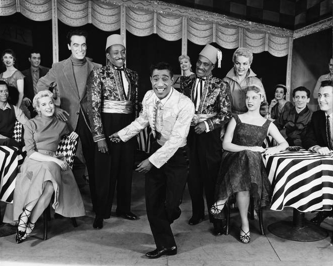"Sammy Davis Jr. in ""Mr Wonderful"". From the Collections of the Museum of the City of New York."