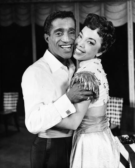 "Sammy Davis, Jr. with Olga James in ""Mr Wonderful"". From the Collections of the Museum of the City of New York."
