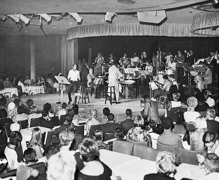 The Copa Room during the recording of The Sounds Of '66
