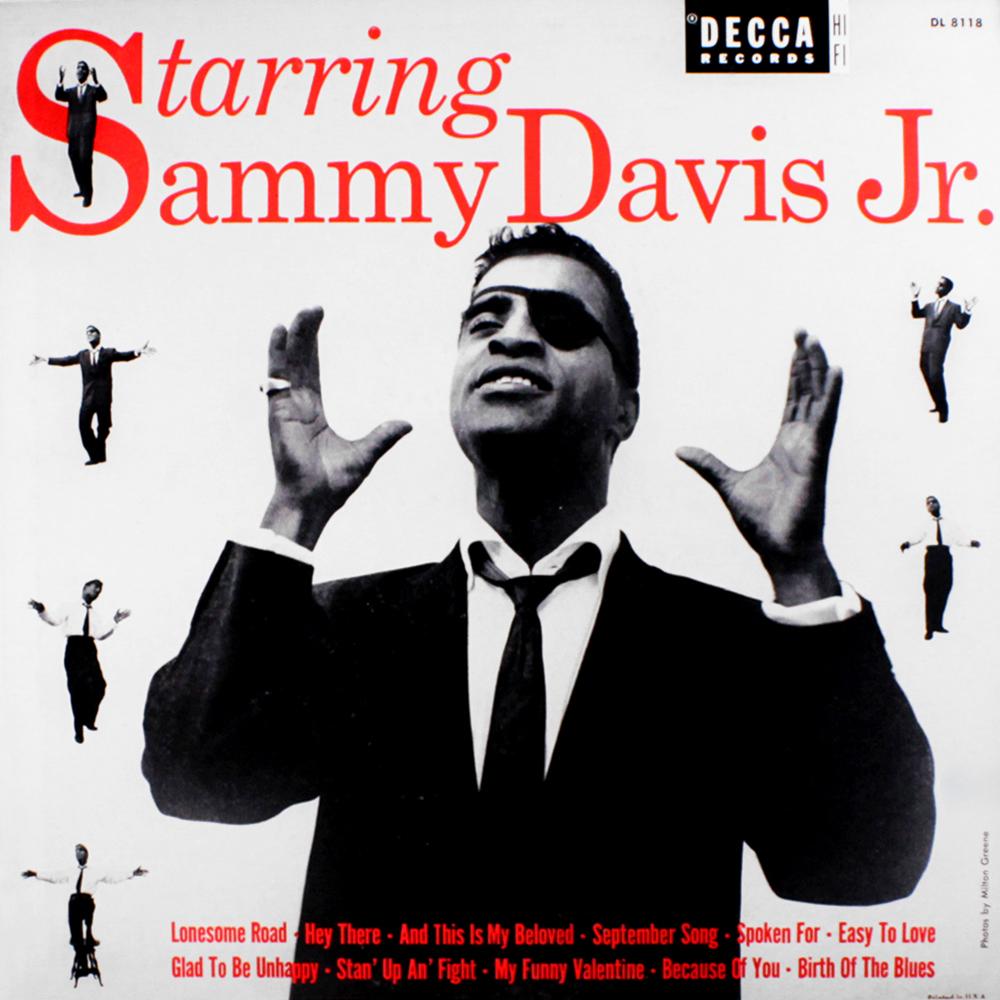 Starring Sammy Davis Jr LP